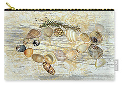Carry-all Pouch featuring the photograph Shell Fish By Kaye Menner by Kaye Menner