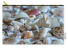 Carry-all Pouch featuring the photograph Shell Ocean by Sabine Edrissi
