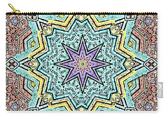Shell Star Mandala Carry-all Pouch