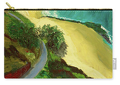 Shelly Beach Carry-all Pouch by Paul McKey