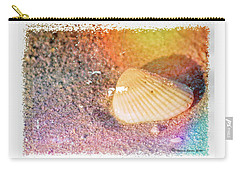 Carry-all Pouch featuring the photograph Shelling Out by Marvin Spates