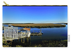 Shellman Bluff Carry-all Pouch by Laura Ragland