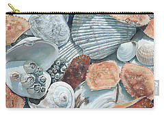Shells Of The Puget Sound Carry-all Pouch