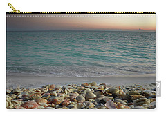 Shells On The Shore Carry-all Pouch