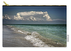 Shells, Surf And Summer Sky Carry-all Pouch