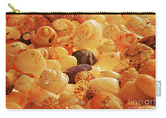 Shells Xvii Carry-all Pouch by Cassandra Buckley