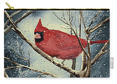 Shelly's Cardinal Carry-all Pouch