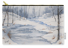 Shelly's Snow Carry-all Pouch by Sam Sidders