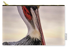 Shelter Island's Pelican Carry-all Pouch by Martina Thompson