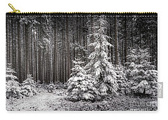 Carry-all Pouch featuring the photograph Sheltered Childhood by Hannes Cmarits