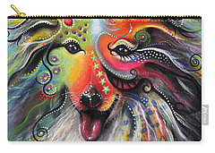 Sheltie  Carry-all Pouch by Patricia Lintner