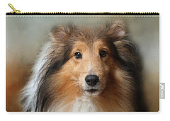 Sheltie Portrait Carry-all Pouch