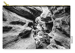 Shenandoah Caverns Slot Canyon Carry-all Pouch by Kevin Blackburn