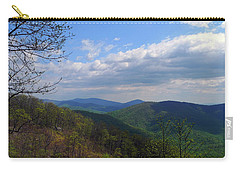 Carry-all Pouch featuring the photograph Shenandoah Skies by Lynda Lehmann