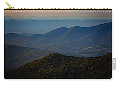 Shenandoah Valley At Sunset Carry-all Pouch by Rick Berk