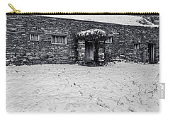 Carry-all Pouch featuring the photograph Shepherds Cottage by Keith Elliott