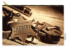 Sheriff Tools Carry-all Pouch by American West Legend By Olivier Le Queinec