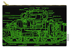 Sherman M4a4 Tank Carry-all Pouch