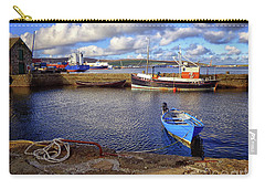 Shetland Boats Carry-all Pouch by Lynn Bolt