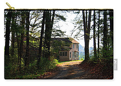 Carry-all Pouch featuring the photograph Shields Farm by Kathryn Meyer