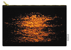 Carry-all Pouch featuring the photograph Shimmer by Linda Hollis