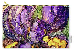 Shimmering Irises Carry-all Pouch