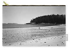 Carry-all Pouch featuring the photograph Shimmering Sand by Corinne Rhode