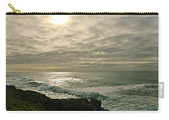 Shimmery  Light Carry-all Pouch by Sheila Ping