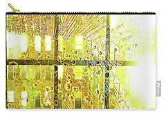 Carry-all Pouch featuring the mixed media Shine A Light by Tony Rubino