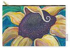 Carry-all Pouch featuring the painting Shine Bright by Tanielle Childers