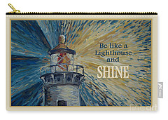 Carry-all Pouch featuring the painting Shine by Maria Langgle