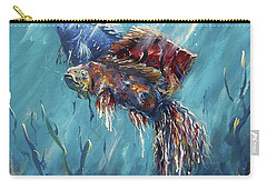 Shine Trough The Ocean Carry-all Pouch