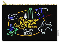 Shiner Beers Dallas Texas Carry-all Pouch