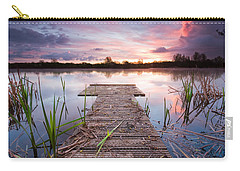 Shinewater Lake Sunrise Carry-all Pouch