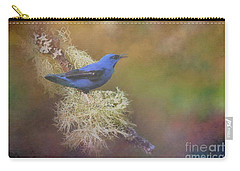 Shining Honeycreeper Carry-all Pouch by Janette Boyd