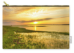Shinnecock Bay Wetland Sunset Carry-all Pouch