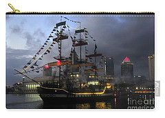 Ship In The Bay Carry-all Pouch by David Lee Thompson
