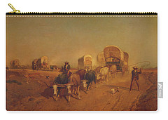 Ship Of The Plains Carry-all Pouch
