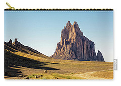 Shiprock 3 - North West New Mexico Carry-all Pouch by Brian Harig