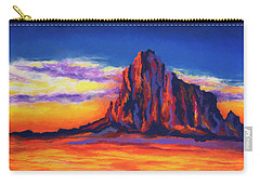 Shiprock Mountain Carry-all Pouch