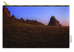Shiprock Under The Stars - Sunrise - New Mexico - Landscape Carry-all Pouch by Jason Politte