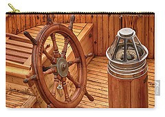 Wheel And Compass Carry-all Pouch