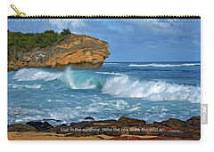 Shipwreck Beach Shorebreaks 2 Carry-all Pouch