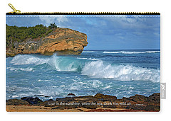 Shipwreck Beach Shorebreaks 2 Carry-all Pouch