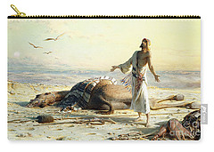Shipwreck In The Desert Carry-all Pouch