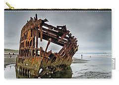 Shipwreck On Oregon Coast Carry-all Pouch