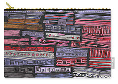 Shipwreck Carry-all Pouch by Sandra Church