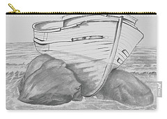 Shipwreck Carry-all Pouch by Terry Frederick