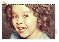 Shirley Temple, Actress Carry-all Pouch