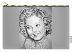 Shirley Temple Carry-all Pouch by Fred Larucci